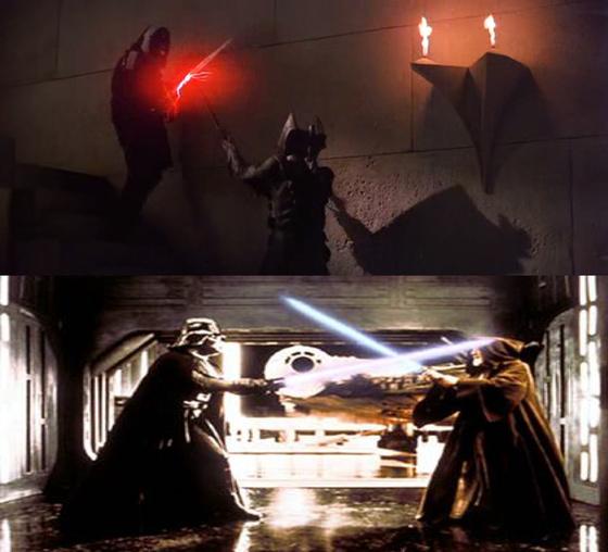 Fénykardpárbaj a Krullban és a Star Warsban