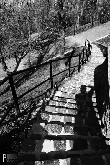 DIphoto: Árnyék a lépcsőn