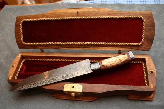 csaba vojko 39 s knives for sale japanese chef knife. Black Bedroom Furniture Sets. Home Design Ideas