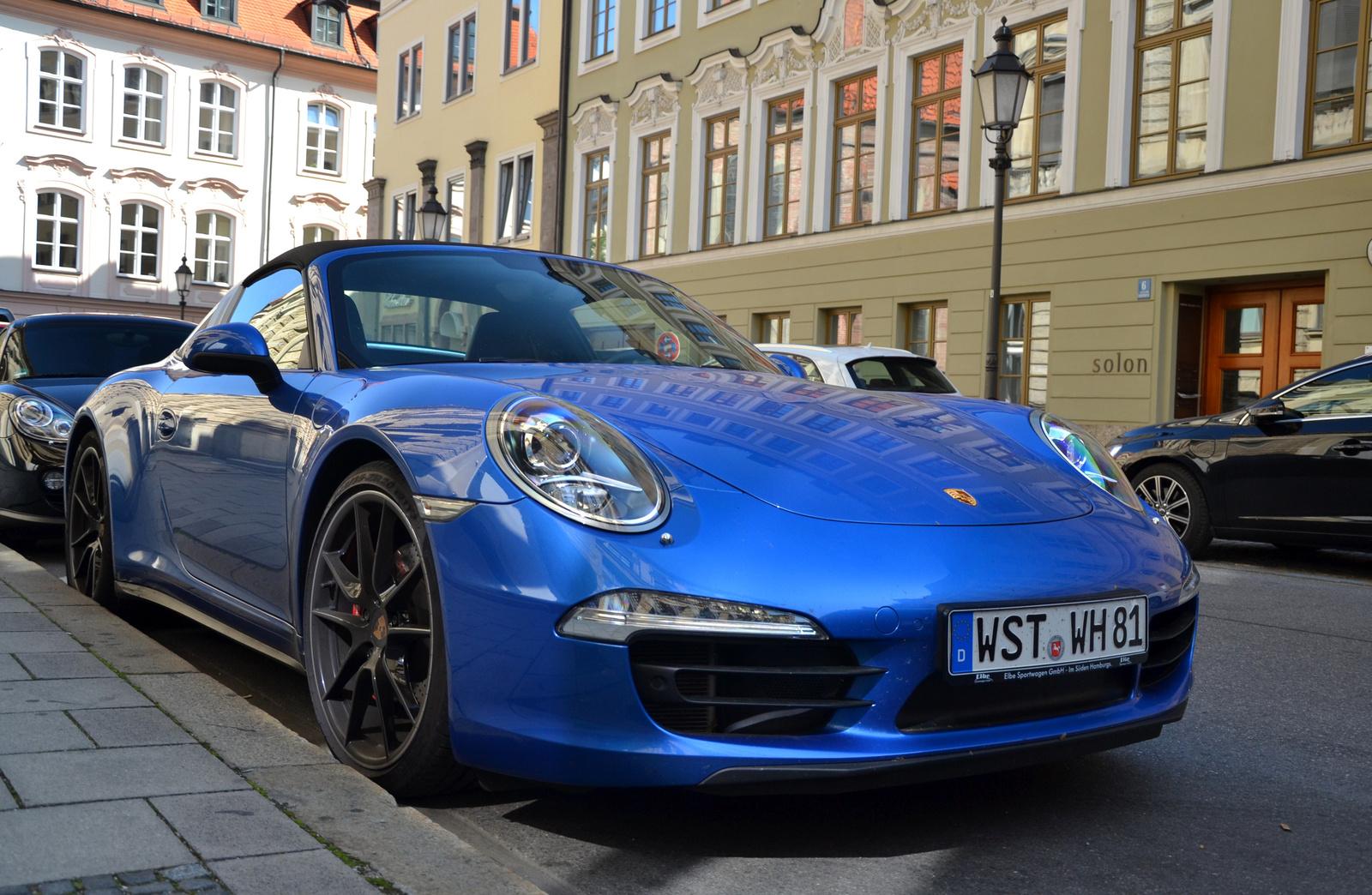 Porsche 911 Targa 4S (991)