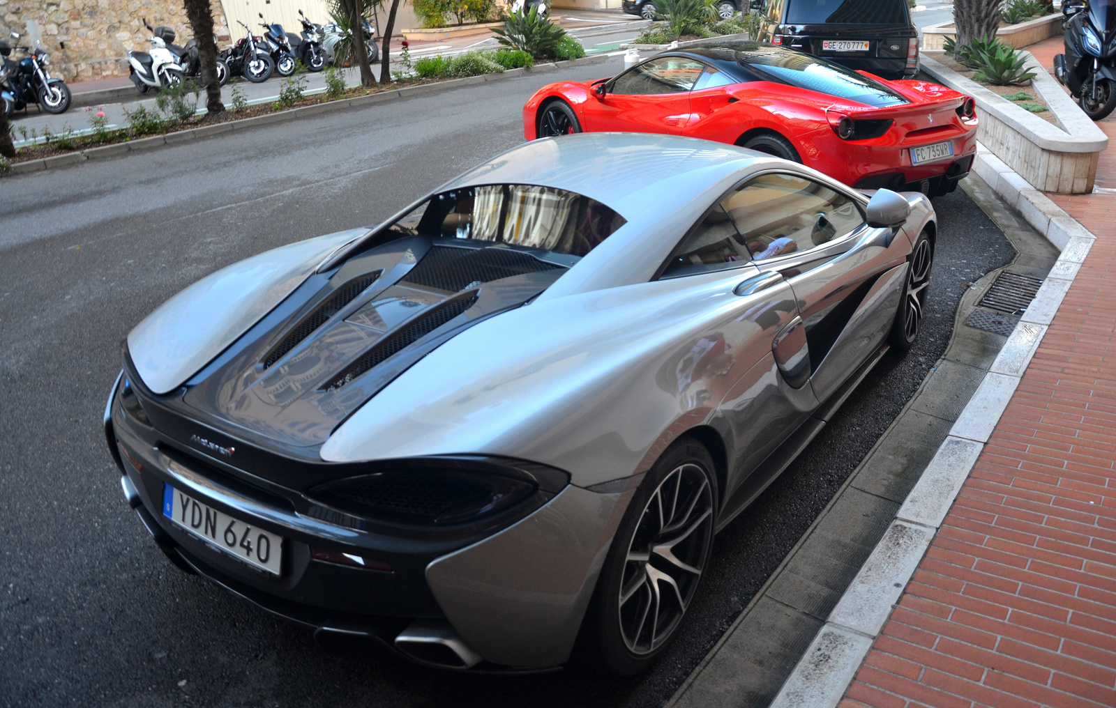 McLaren - Ferrari