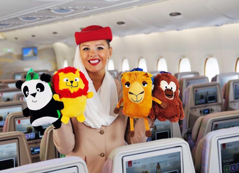 bon-thien-than-nho-emirates-airline-de-thuong-cua-cac-be