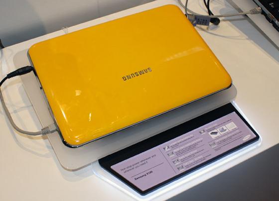 Samsung X120 sárga