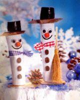 Hó sincs, de nekünk van hóemberünk!