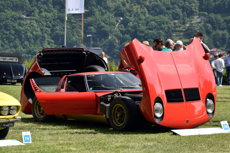 1971 Lamborghini Miura P 400 SV