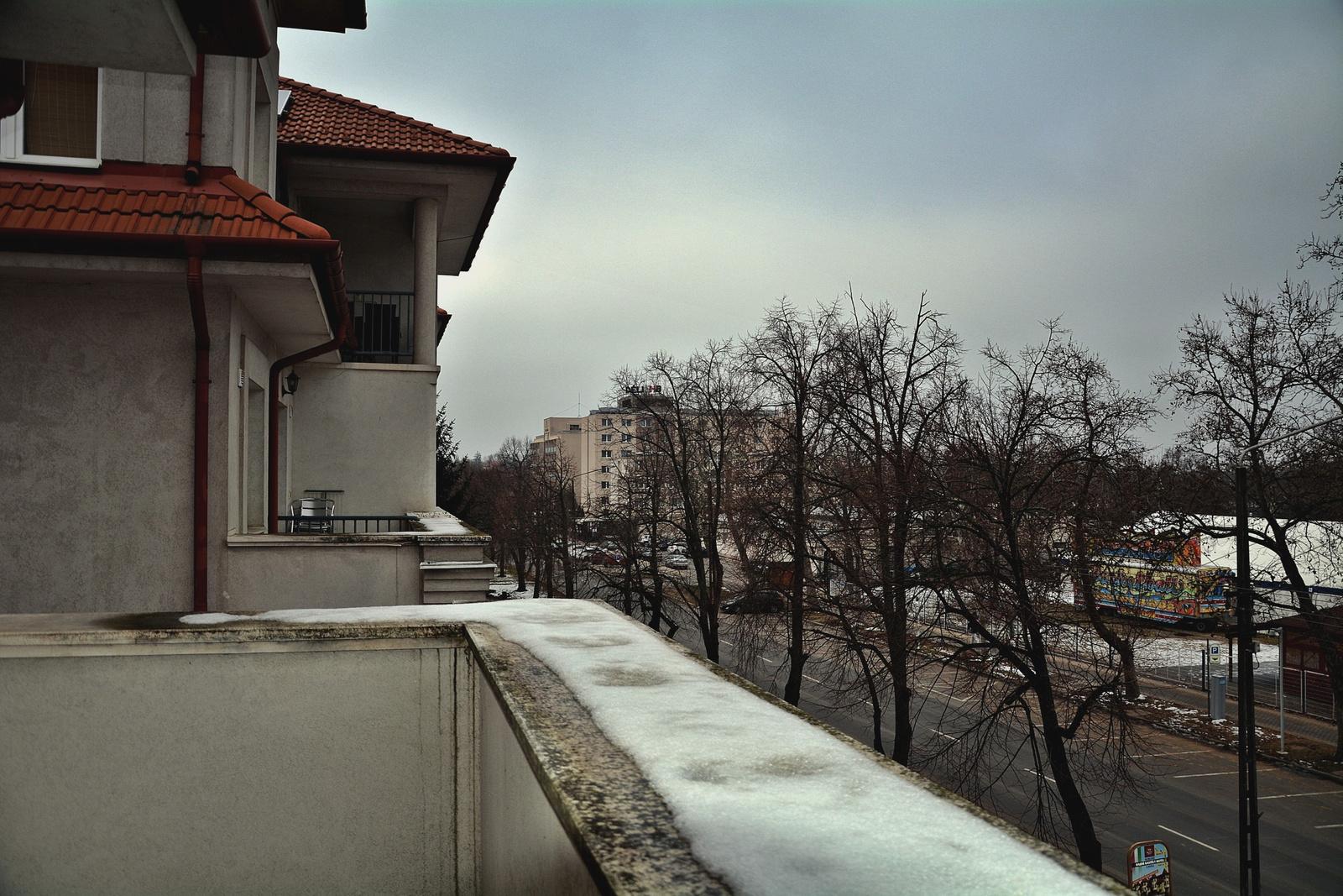 Erkélyről