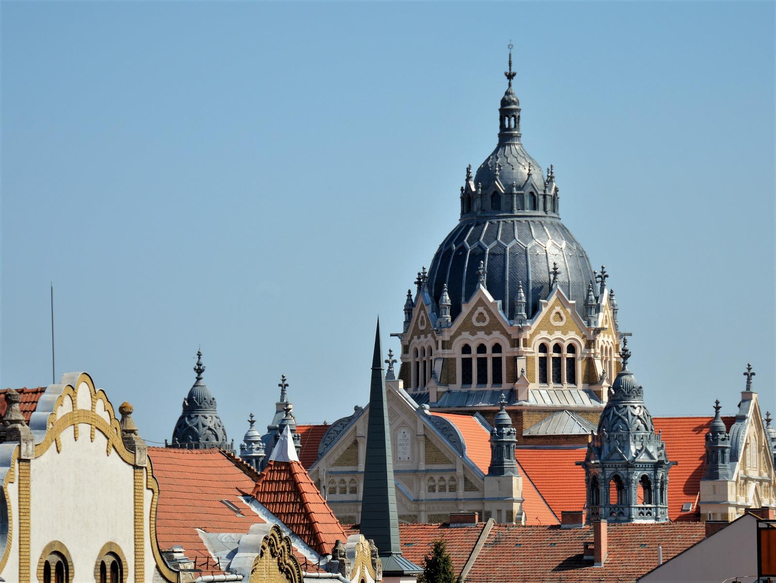 Szegedi zsinagóga kupolája