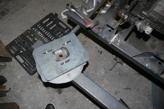 datsun 260Z VQ35 engine install 1