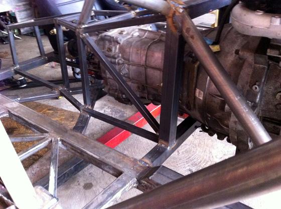 datsun 260Z aardvark tube frame 7