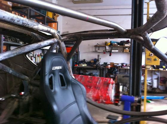 datsun 260Z aardvark tube frame 8