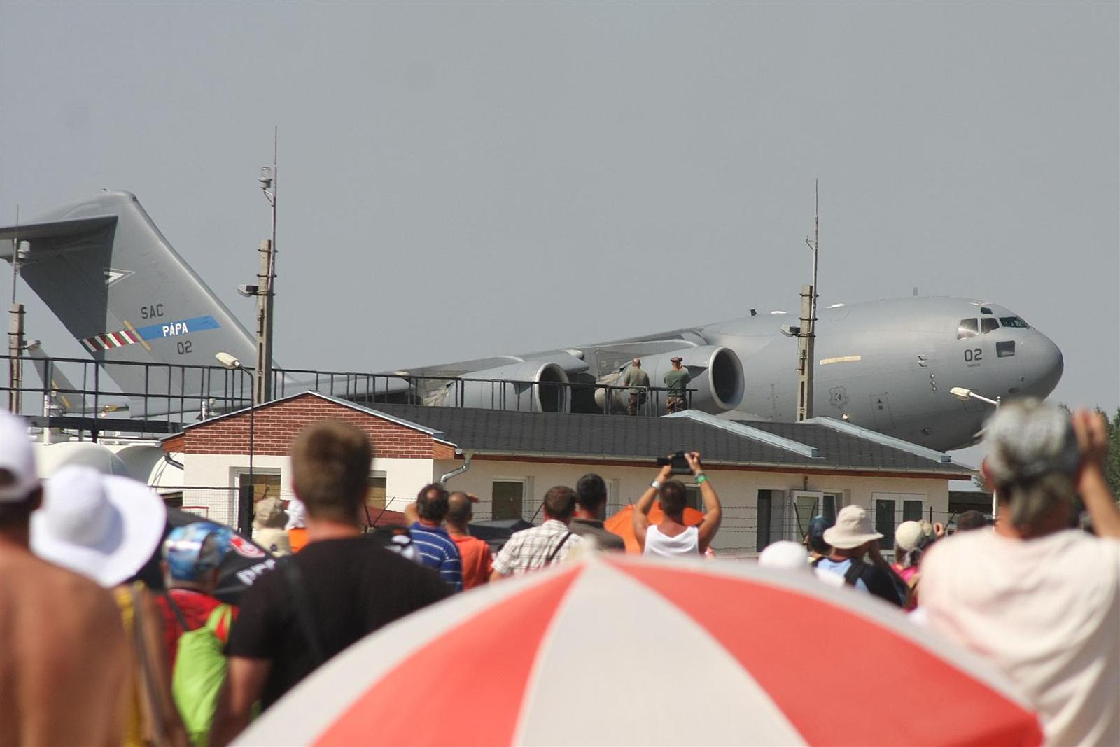 sanyikám: Kecskemét repülőnap 2013 - C-17 Magyarország