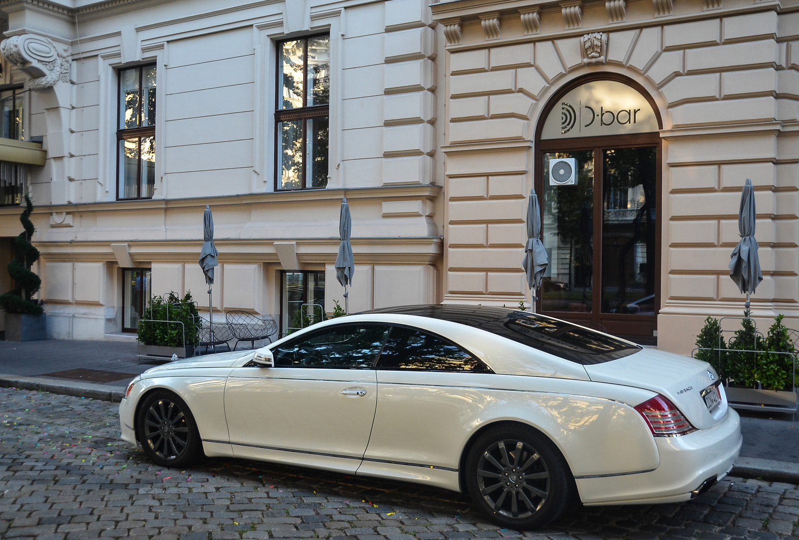 Maybach 57S Coupé