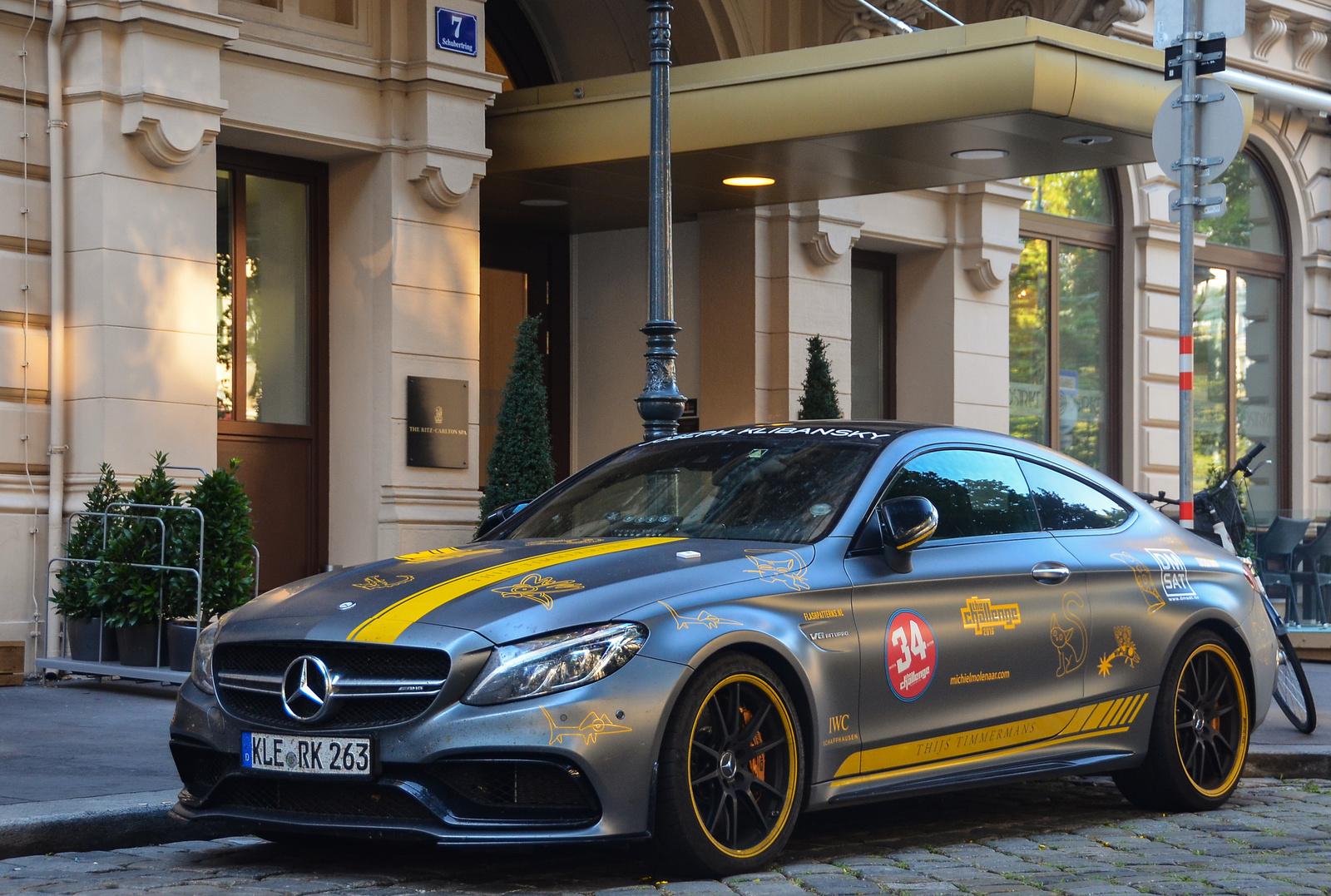 Mercedes-AMG C 63 Coupé S Edition 1