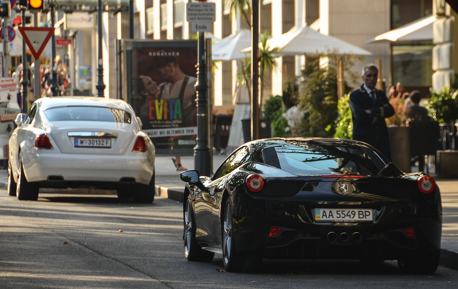 458 Italia - Wraith