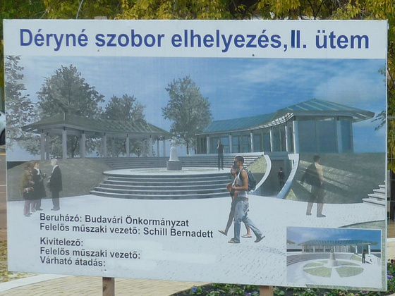 Déryné a Horváth-kertben fotó: fovarosi.blog.hu