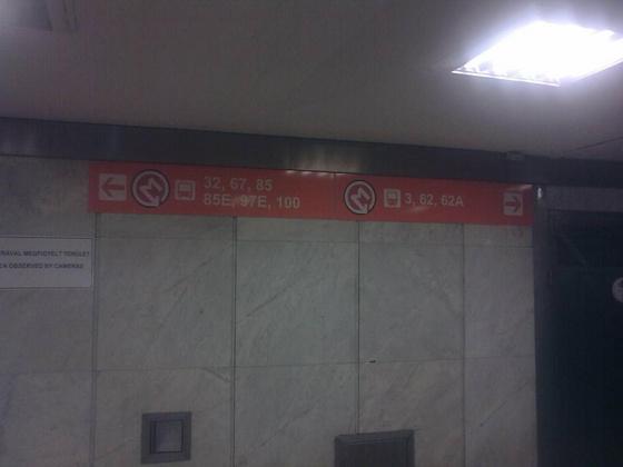 ~dá~: Merre van a metró? Fotó: Tarzan