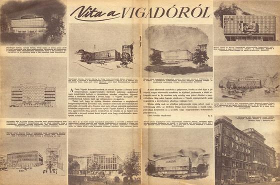 ~dá~: Régi újság - a Vigadóról