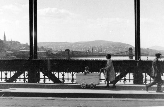 Erzsébet híd - fortepan.hu