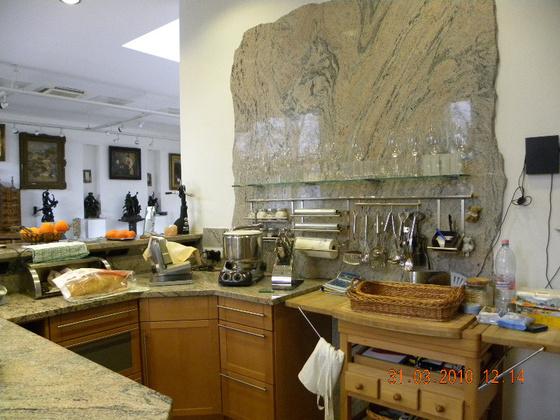 Maradék márvány a konyhafalra?
