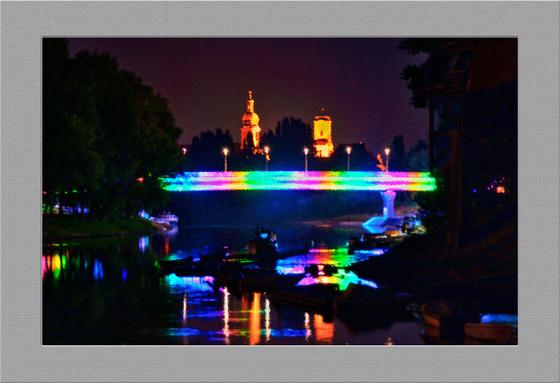 Nemes Zoltán 'mettor' Kép (Győr, Jedlik Ányos híd)