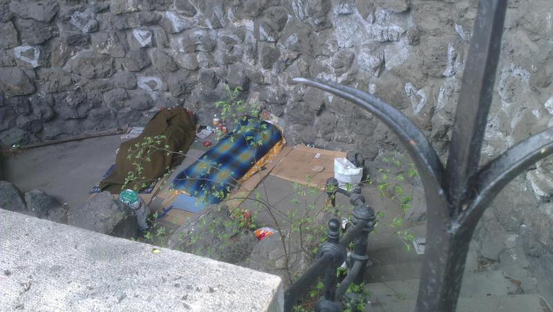 Gellért szobor alatti vízesés - fotó: KZ