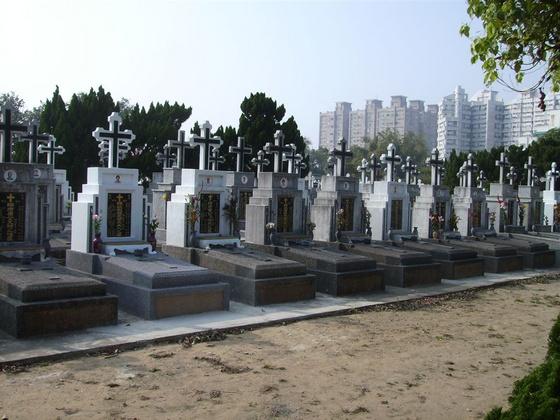 zhaoman: keresztény temető, Tainan (Taiwan)