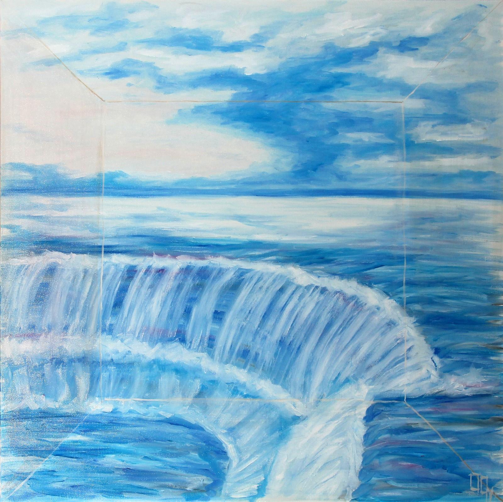 dobusgyorgy: Óceán zuhanása - Kapu - indafoto.hu