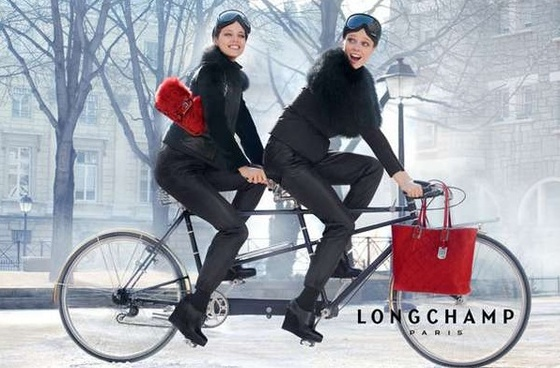 Longchamp: Oh my bike!