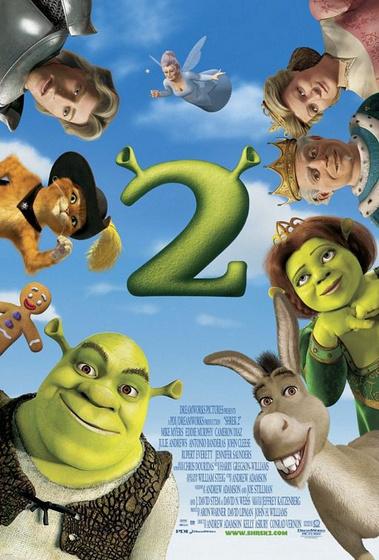 Shrek 2 poszter