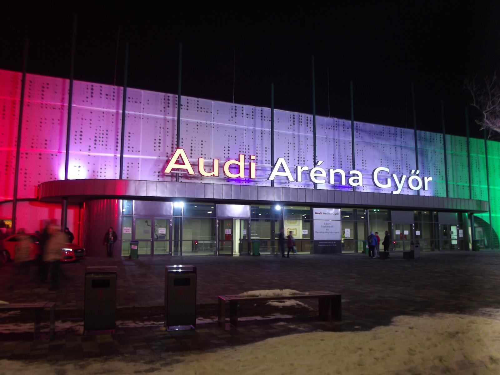 Audi Aréna Győr 2015