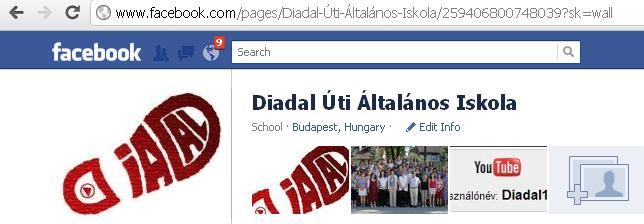 A Facebook-oldalunk 2011