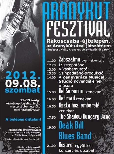Aranykút Fesztivál 2012