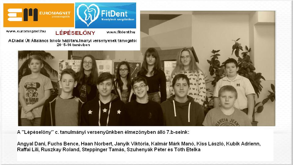 Diadal Úti Általános Iskola: 7b javítók 201512 - indafoto.hu