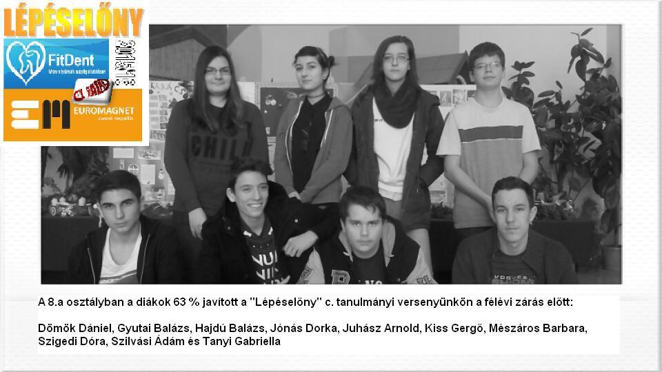 Diadal Úti Általános Iskola: 8a javítók 201512 - indafoto.hu