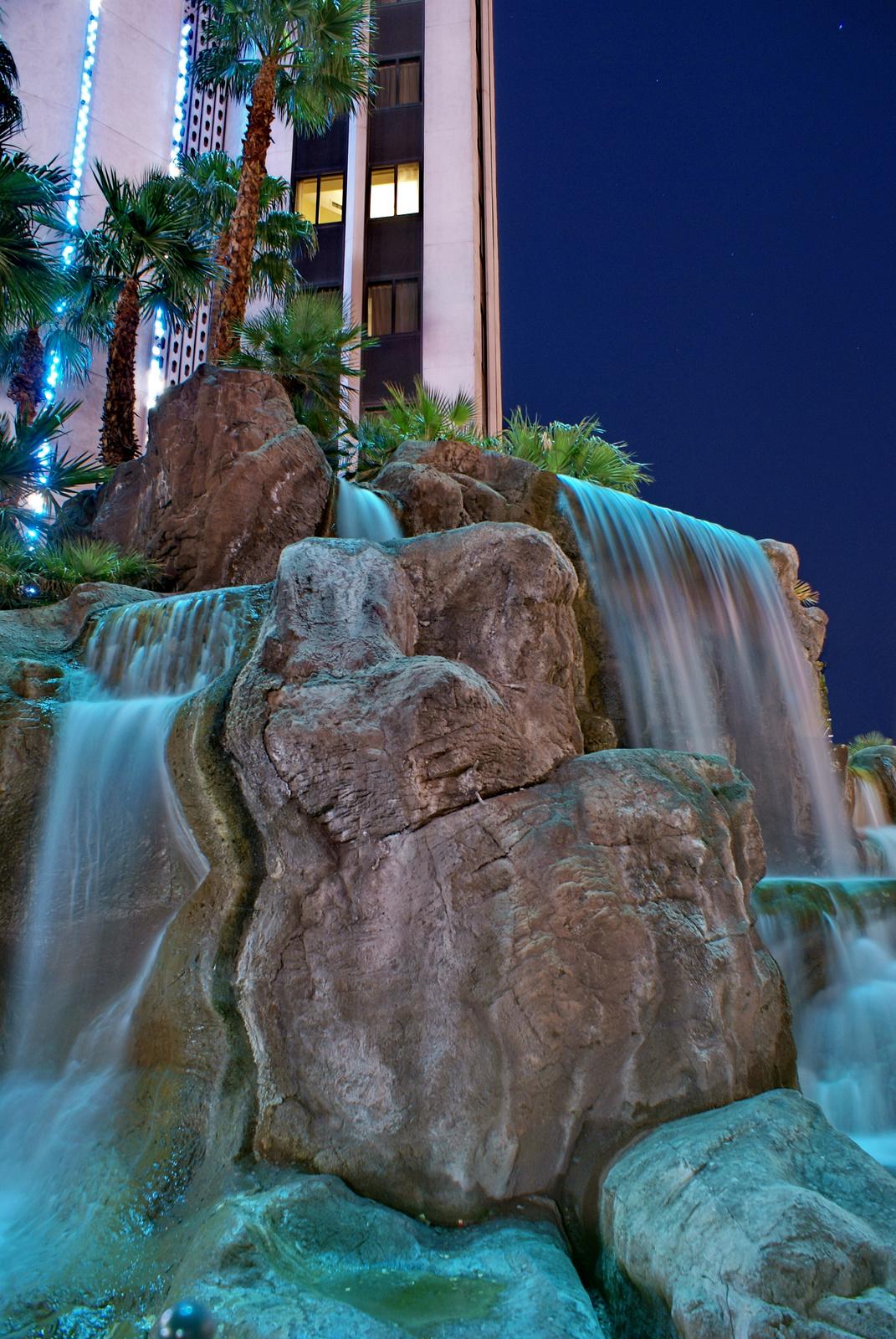 Las Vegas Strip Rock Fountain