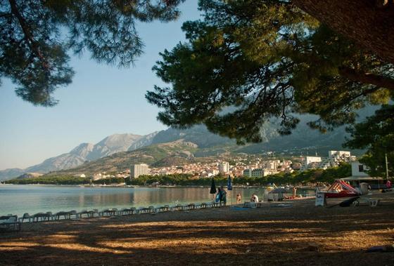 fiesta: Reggel a strandon - Makarska