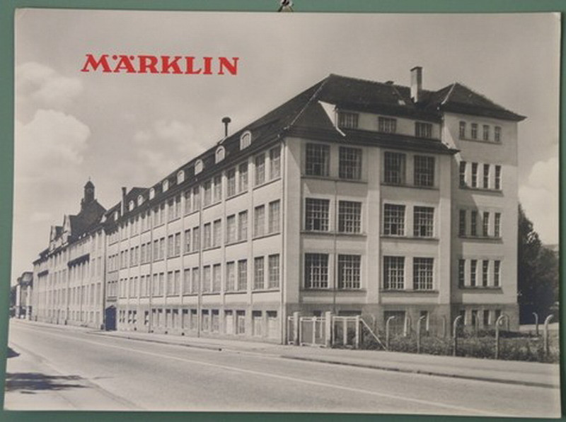 Marklin factory photo Goppingen