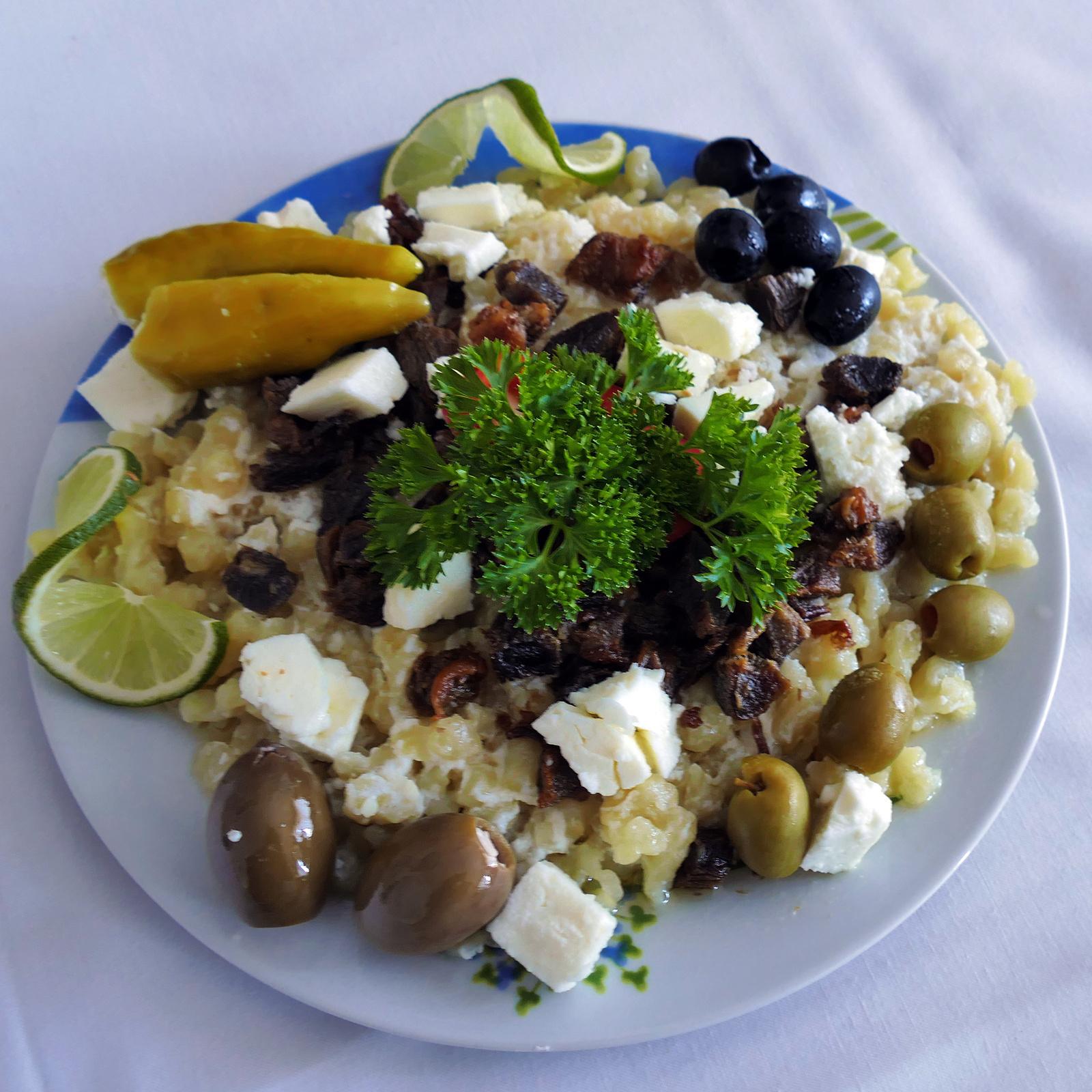 Haluska fesztivál - Görög fetás haluska