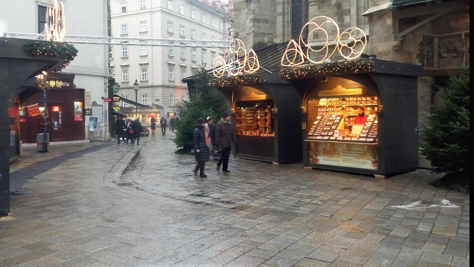Bécs - Istvántemplom adventi vásár