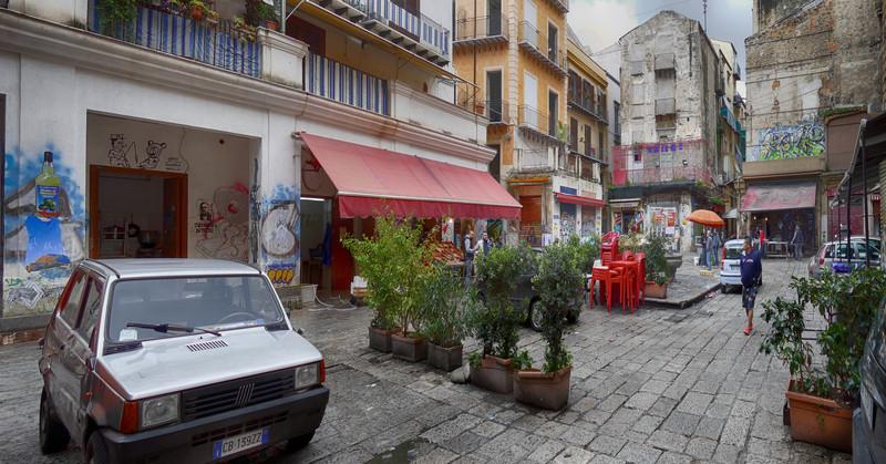 Costa - Palermo -Mercato Vucciria Via Coltellieri
