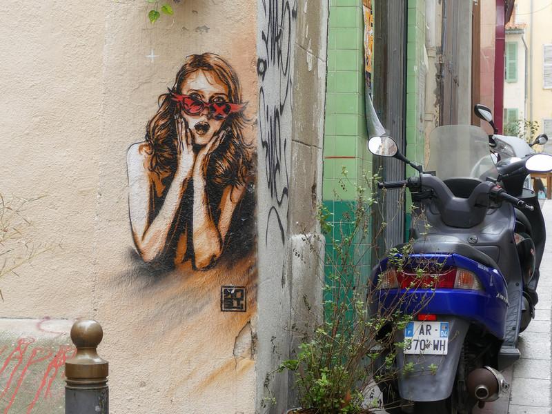 Costa - Marseille Panier negyed Graffitii