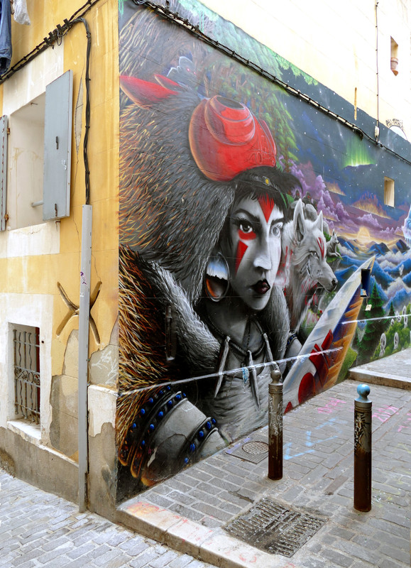 Costa - Marseille Panier negyed graffiti