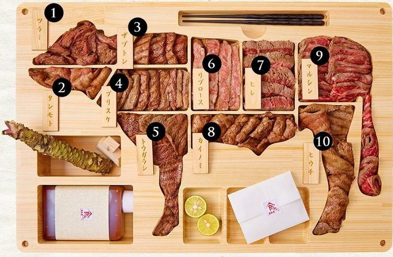 Steak wagyu Bent box 3000 USD
