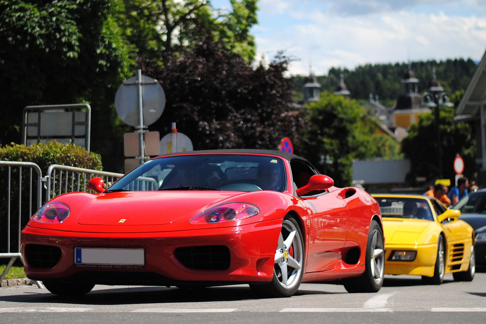 Ferrari 360 Spider - Ferrari 348 TS