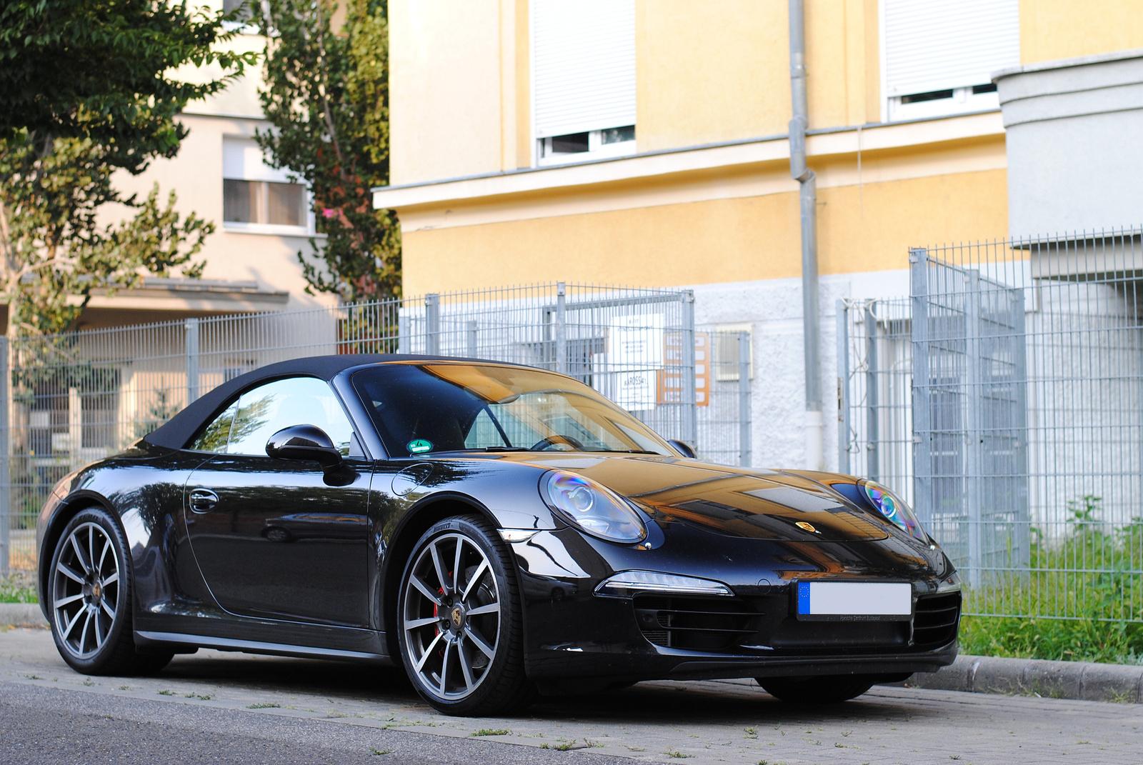 Porsche 911 (991) Carrera 4S Cabriolet