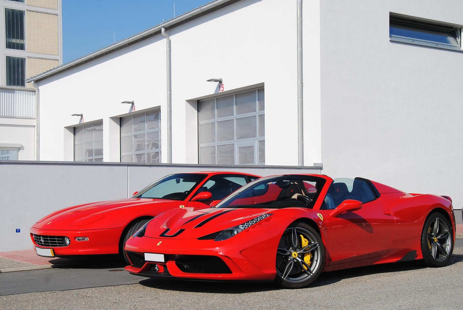 Ferrari 456M GT - Ferrari 458 Speciale A
