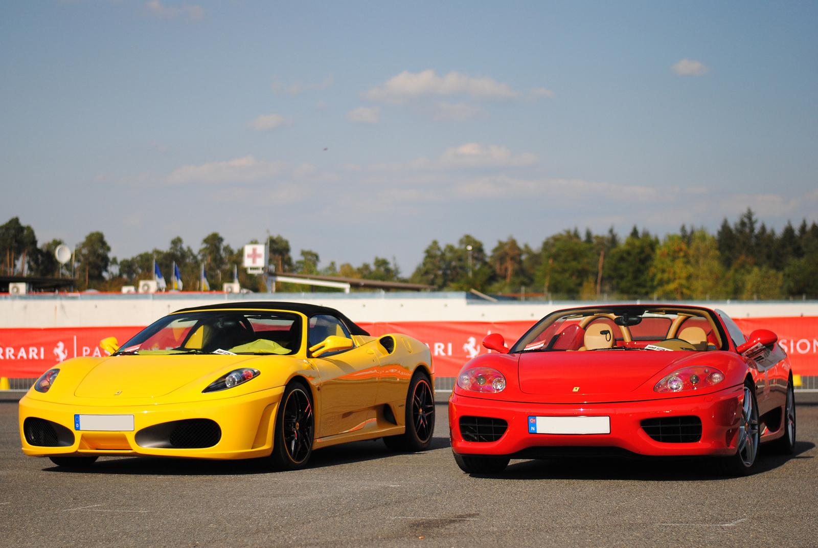 Ferrari F430 Spider - Ferrari 360 Spider