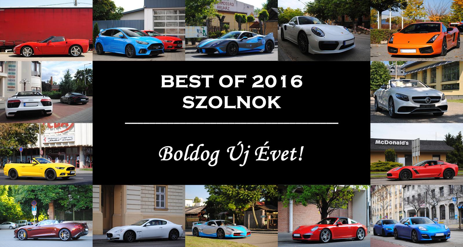 B.Ú.É.K. 2017! - Supercars In Szolnok