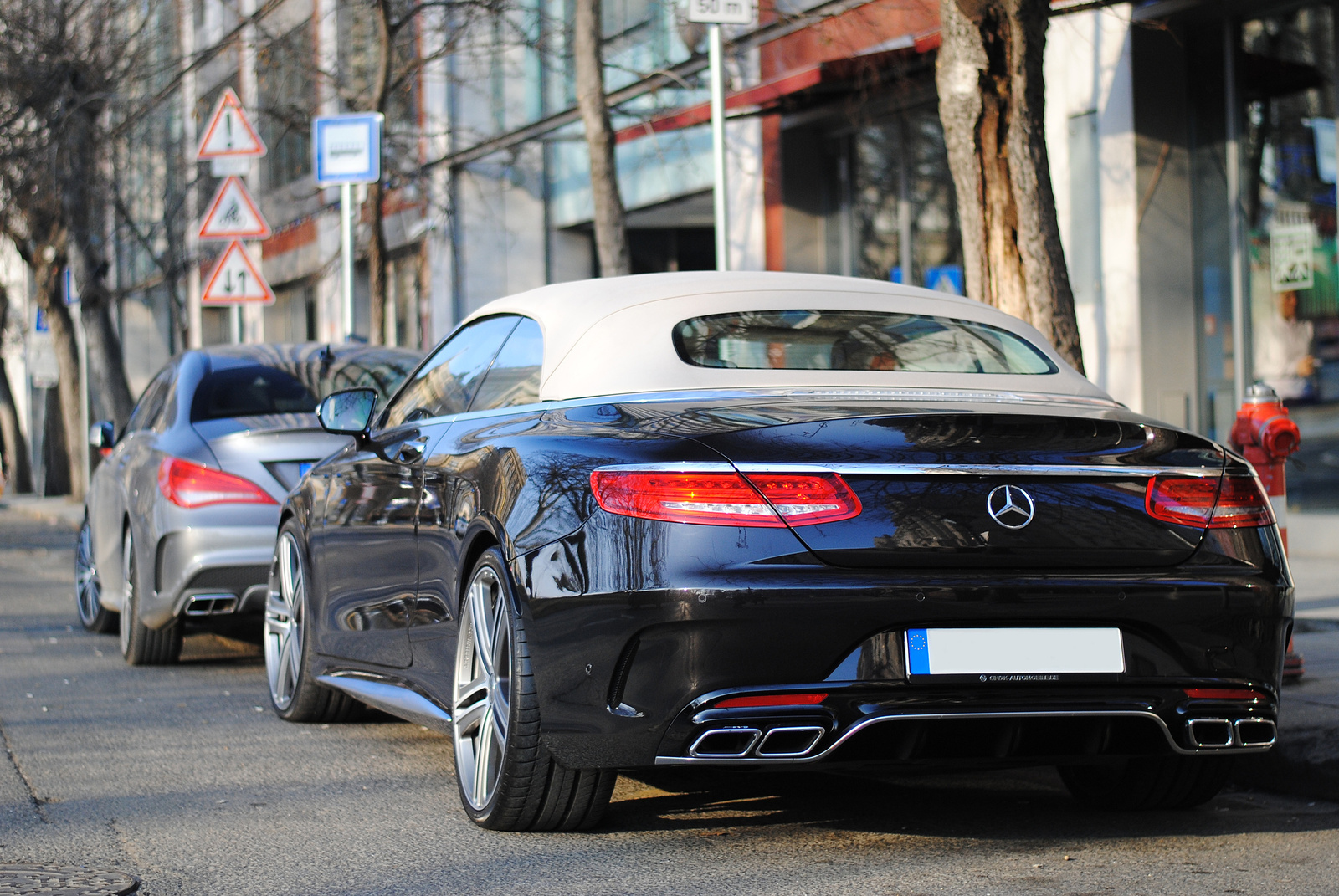 CLA 45 AMG C117 - S 63 Convertible A217