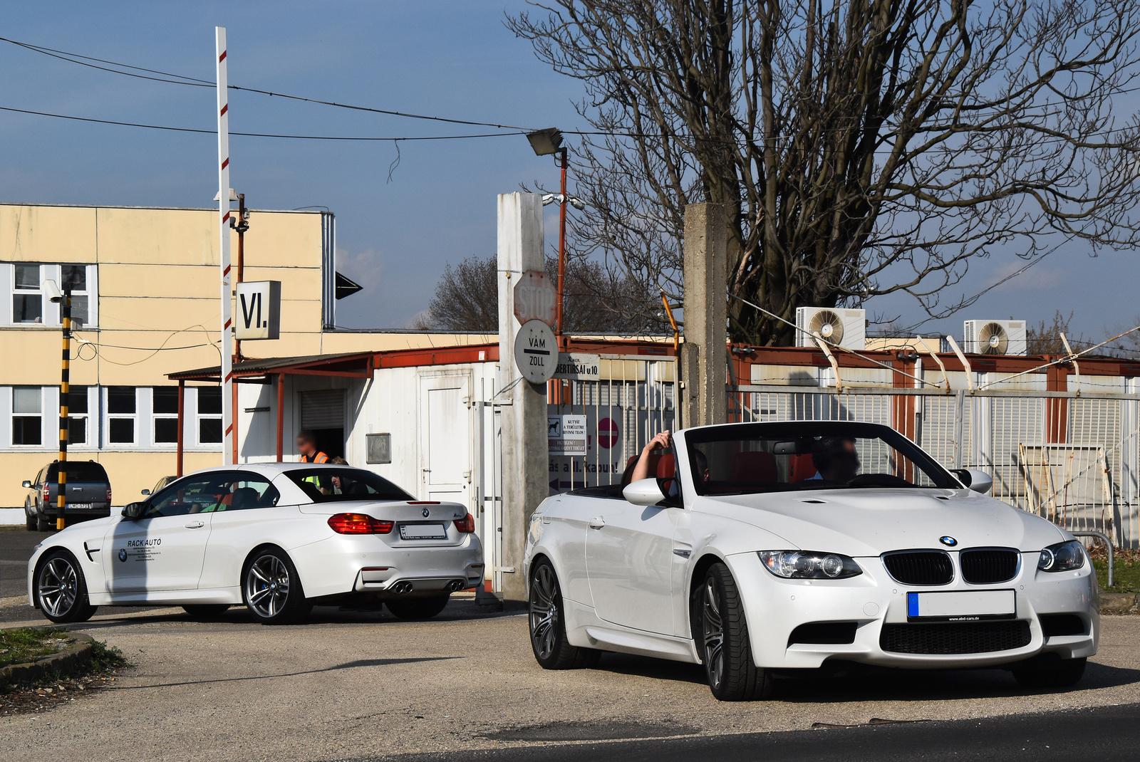 BMW M4 F83 Convertible - M3 E93 Convertible